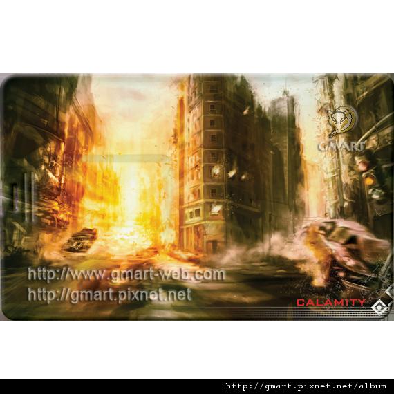 科幻插畫家 - 張裕劼名片碟006 Calamity