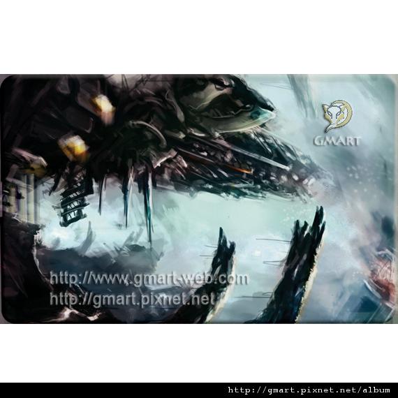科幻插畫家 - 張裕劼名片碟009 lockdown