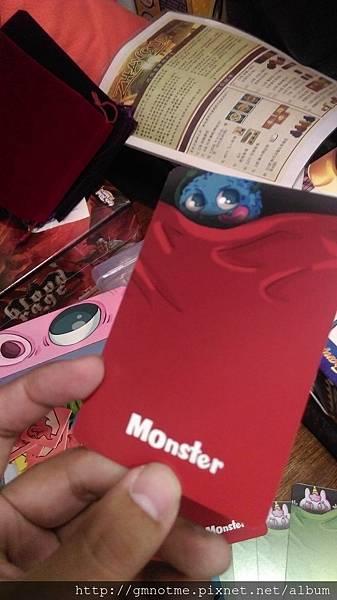 怪物卡牌背