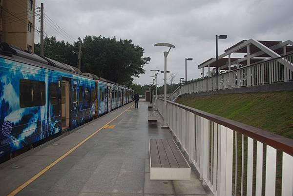 月台與站區