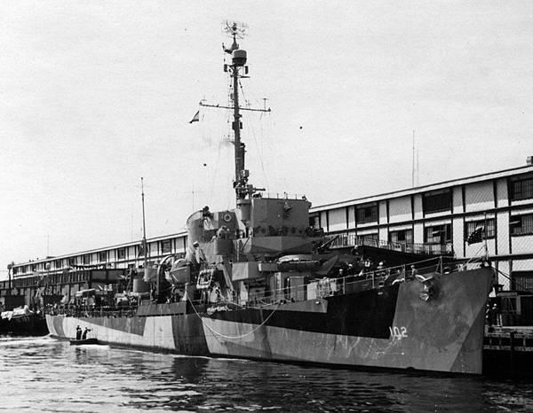 USS DE-102
