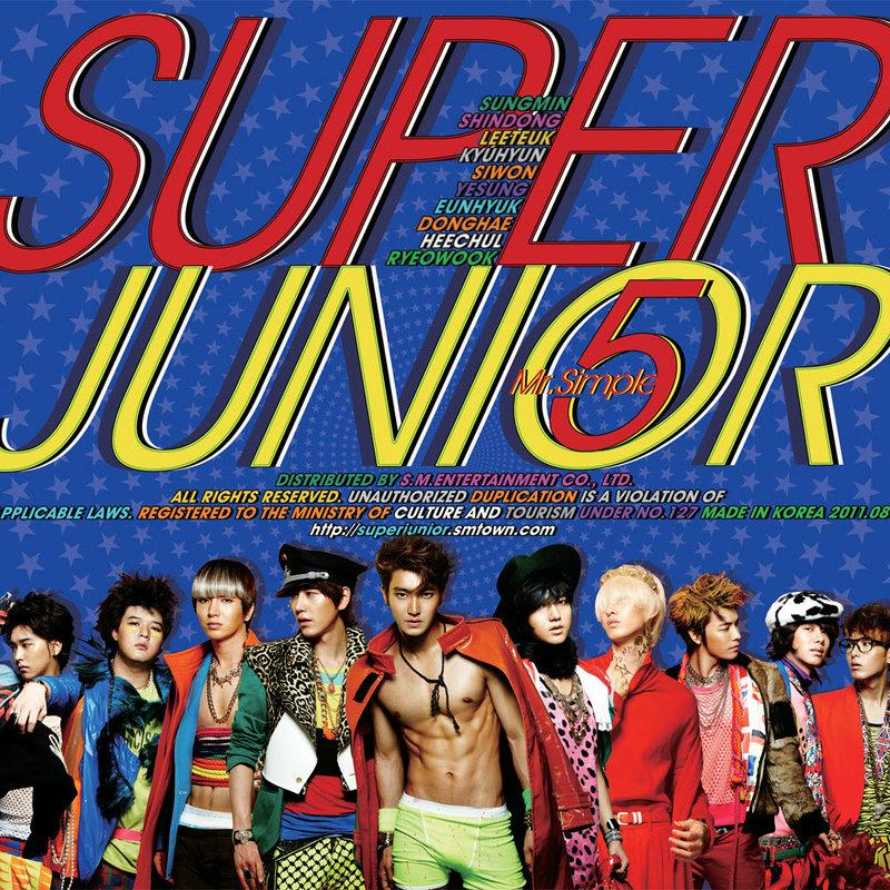 SUPER JUNIOR 第五張韓文專輯/Mr. Simple
