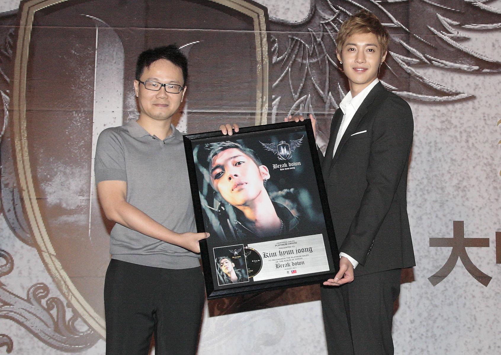 「韓國首席新巨星」金賢重舉辦首張冠軍迷你專輯大中華區記者會