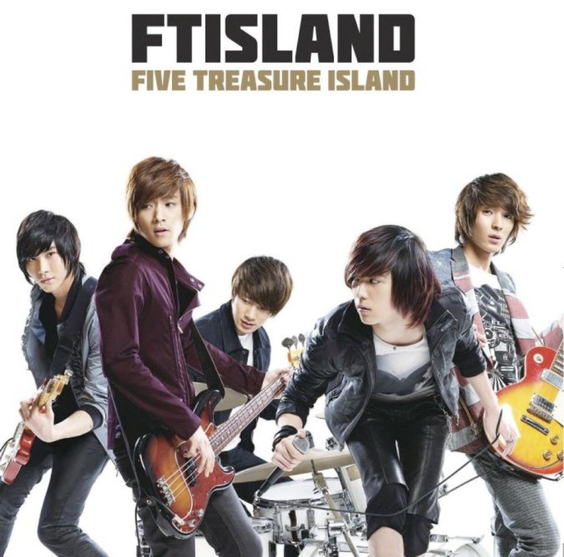 首張日文正規專輯 FIVE TREASURE ISLAND 三種台壓版本 9/16同時發售! 初回限定版A盤 (CD+DVD)