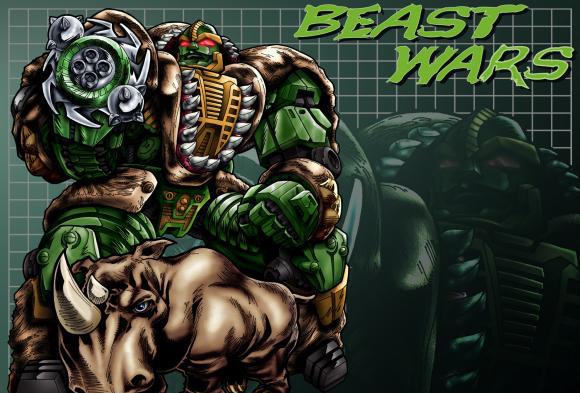 Beast Wars Rhinox Art 1600 x 1200
