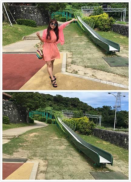日本沖繩 浦添大公園 長長溜滑梯-9.jpg