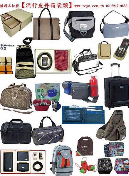 流行皮件箱袋類