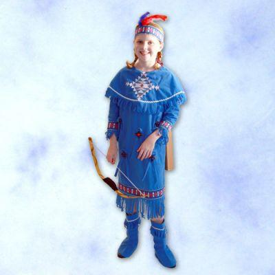 印地安少女服