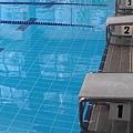 很久沒人使用的跳水台