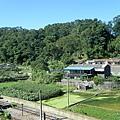 俯看勝興火車站