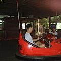 來到泰雅渡假村玩碰碰車囉!