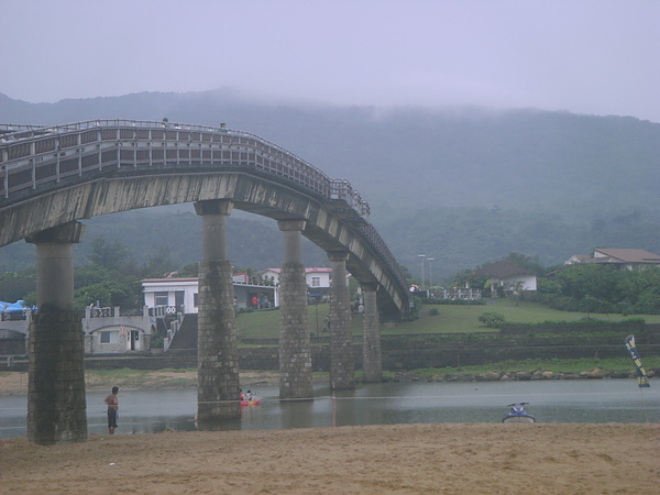 福隆的地標--彩虹橋