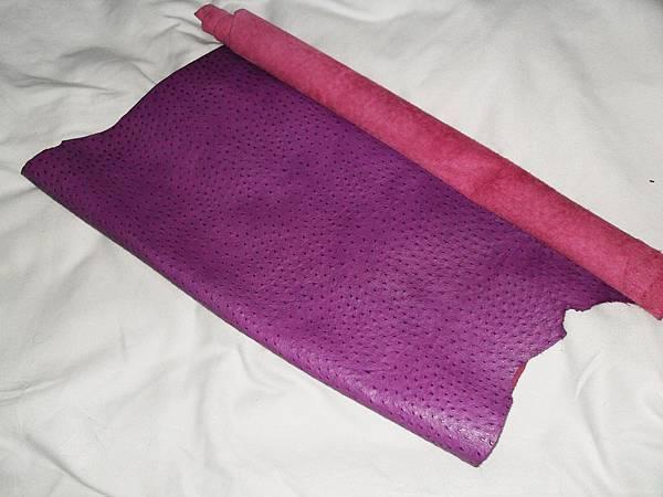 鴕鳥紋_洋紅紫