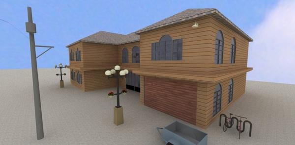Sketchup 3D _第二堂 建築外觀