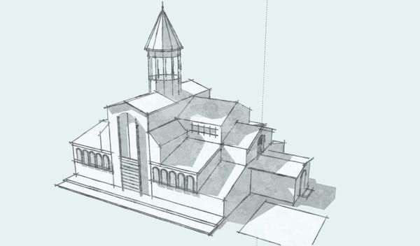 Google SketchUp_自建立造型,輸出各種筆觸1