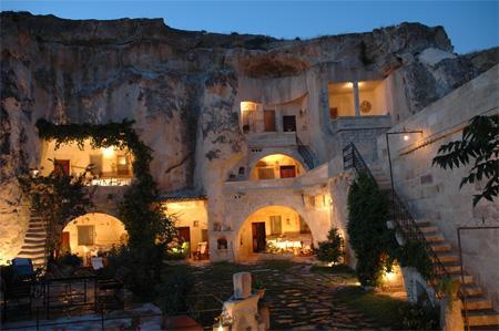 洞穴旅館-土耳其