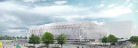 倫敦奧運會籃球館2
