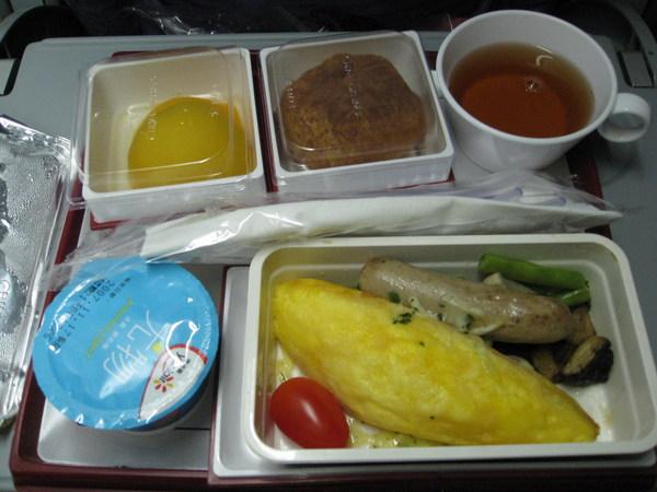機上餐蛋包(2)