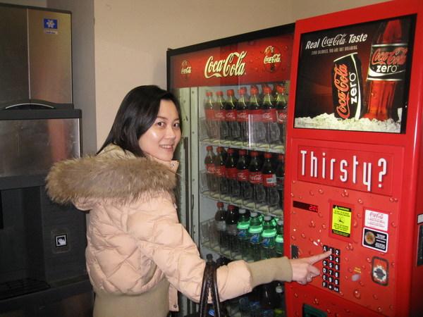我也來一張有可口可樂的囉!