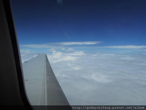 台灣的天空準備飛出去啦~~