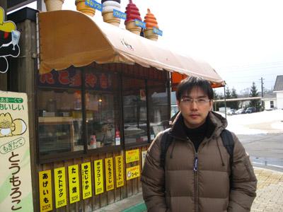 我們吃了好吃的冰淇淋,聽說來北海道一定要吃的,真的好香濃呀~不過這還不是全北海道最好吃的哦~