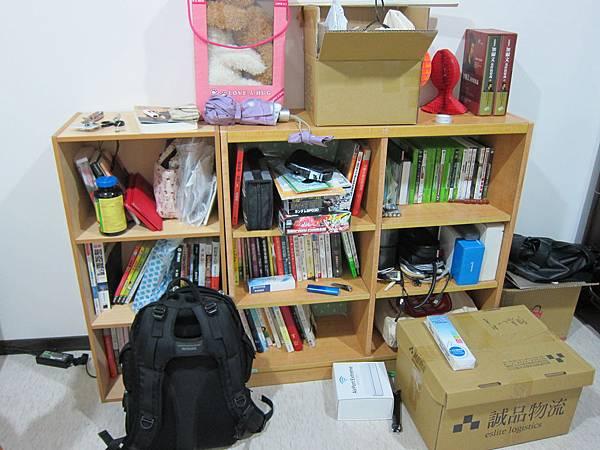 書櫃before