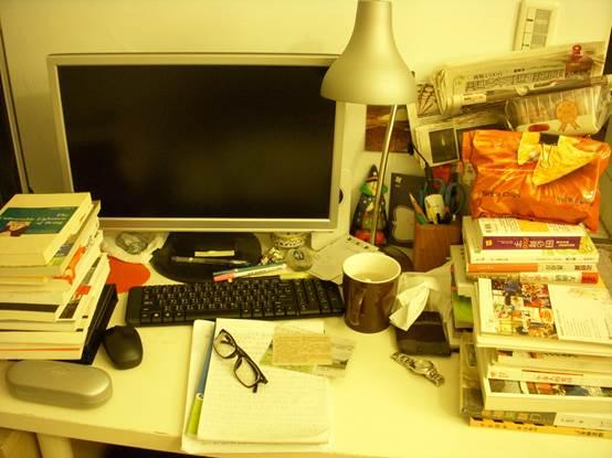 書桌before
