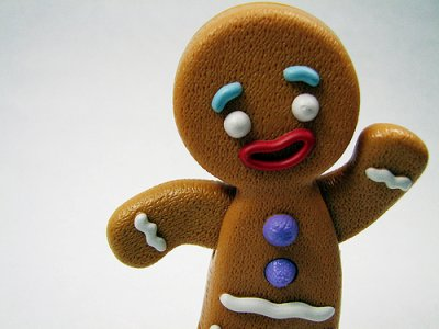 Who killed the gingerbread man?