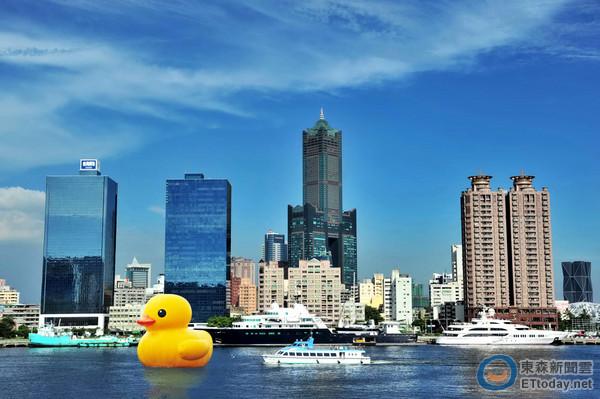 黃色小鴨台灣首展