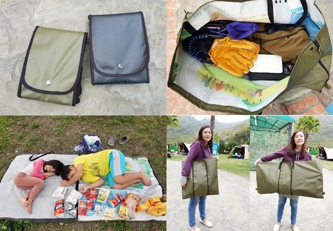《生活好物》Nature Me墊墊袋,是超大購物袋更是托特袋、野餐墊!環保材質台灣製,只要一咖輕鬆搞定生活大小事