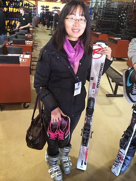 (2)滑雪1