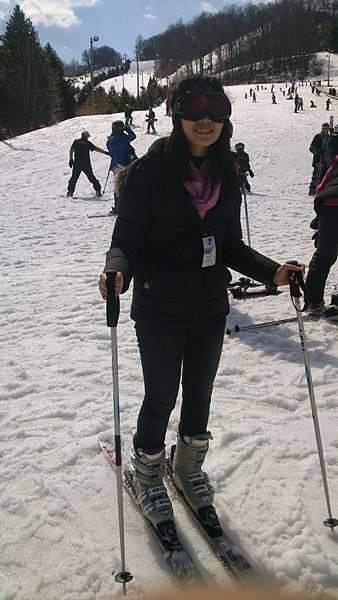 (2)滑雪2