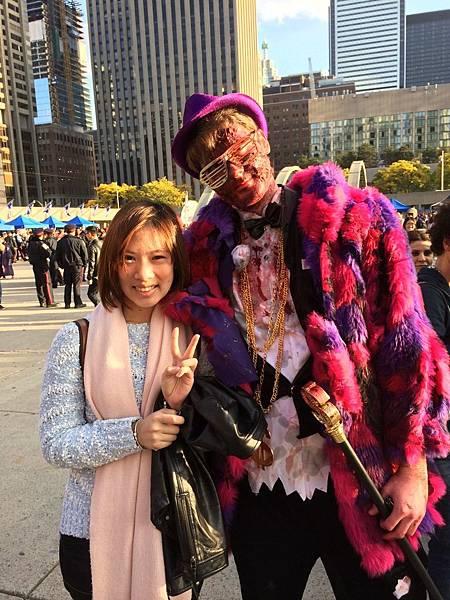 Toronto halloween zombie walk