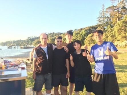 我和同學的合照-紐西蘭遊學心得