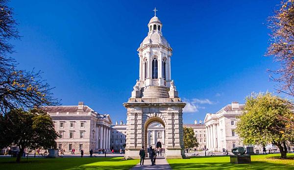 愛爾蘭 都柏林 Trinity College gogoenglish