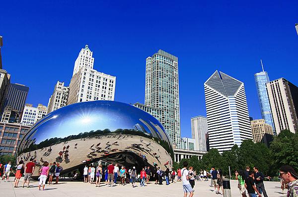 芝加哥 千禧公園- 美國10大熱門遊學城市 gogoenglish