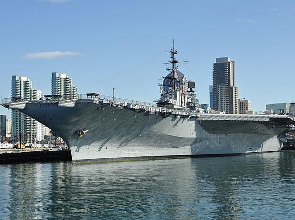 聖地牙哥 中途島號航空母艦博物館- 美國10大熱門遊學城市 gogoenglish