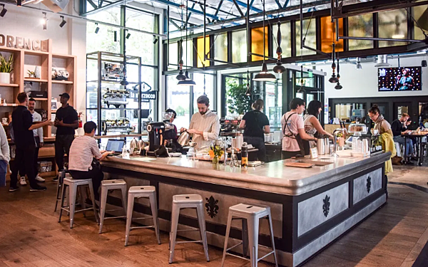 西雅圖咖啡店- 美國10大熱門遊學城市 gogoenglish