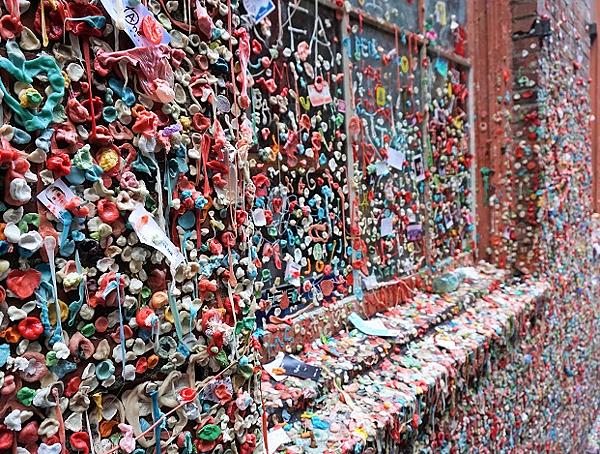 西雅圖口香糖牆- 美國10大熱門遊學城市 gogoenglish