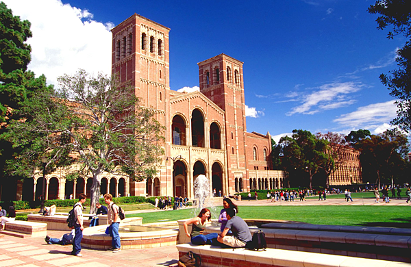 UCLA校園- 美國10大熱門遊學城市 gogoenglish