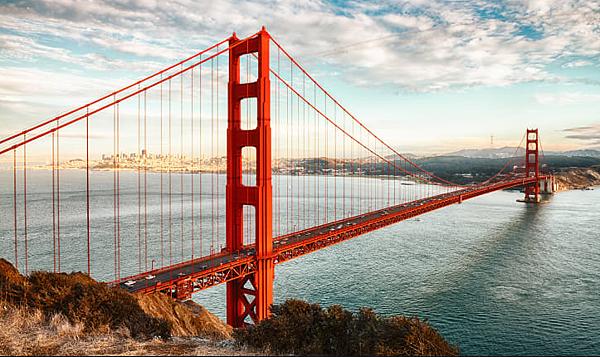 舊金山金門大橋- 美國10大熱門遊學城市 gogoenglish