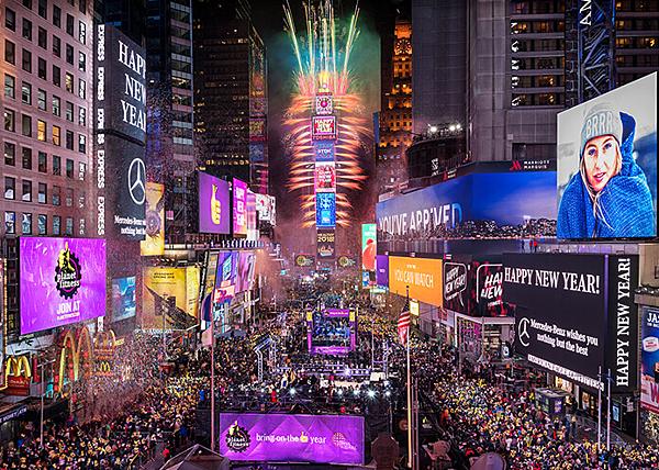 時代廣場 跨年- 美國10大熱門遊學城市 gogoenglish
