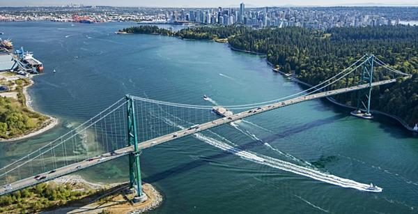 溫哥華景點  Lions Gate Bridge-gogoenglish
