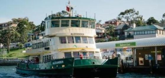 [雪梨] 雪梨交通 渡輪 Ferries -gogoenglish