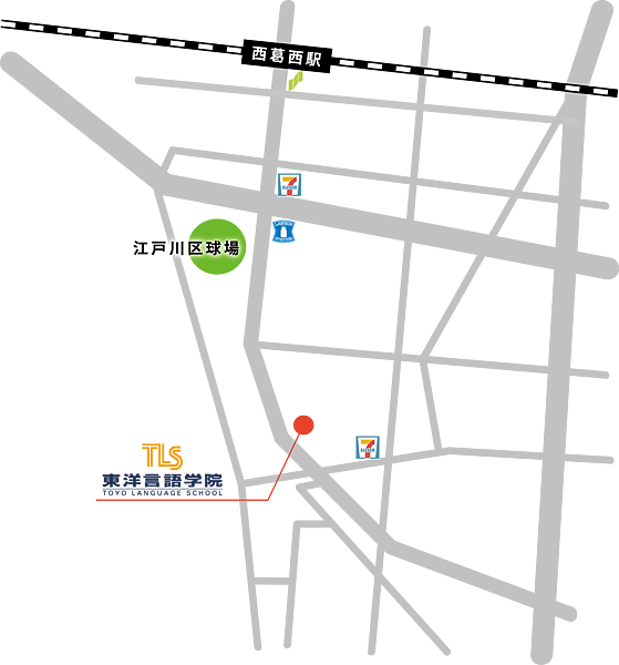 東洋言語學院地圖