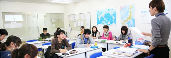 赤門會日本語學校-上課情況1