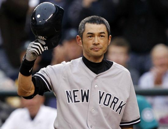 Ichiro NYY 1