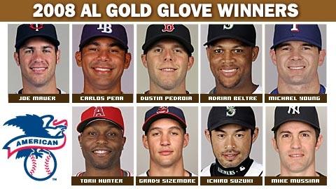 2008 AL Gold Glove