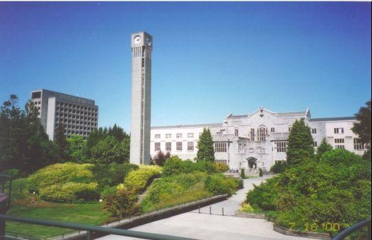 不列顛哥倫比亞大學