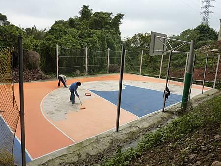 興建籃球場4